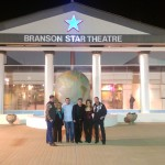 The cast in front of The Branson Star Theatre at Opry Mania!!