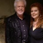 Sonja Gardner with Merrill Osmond