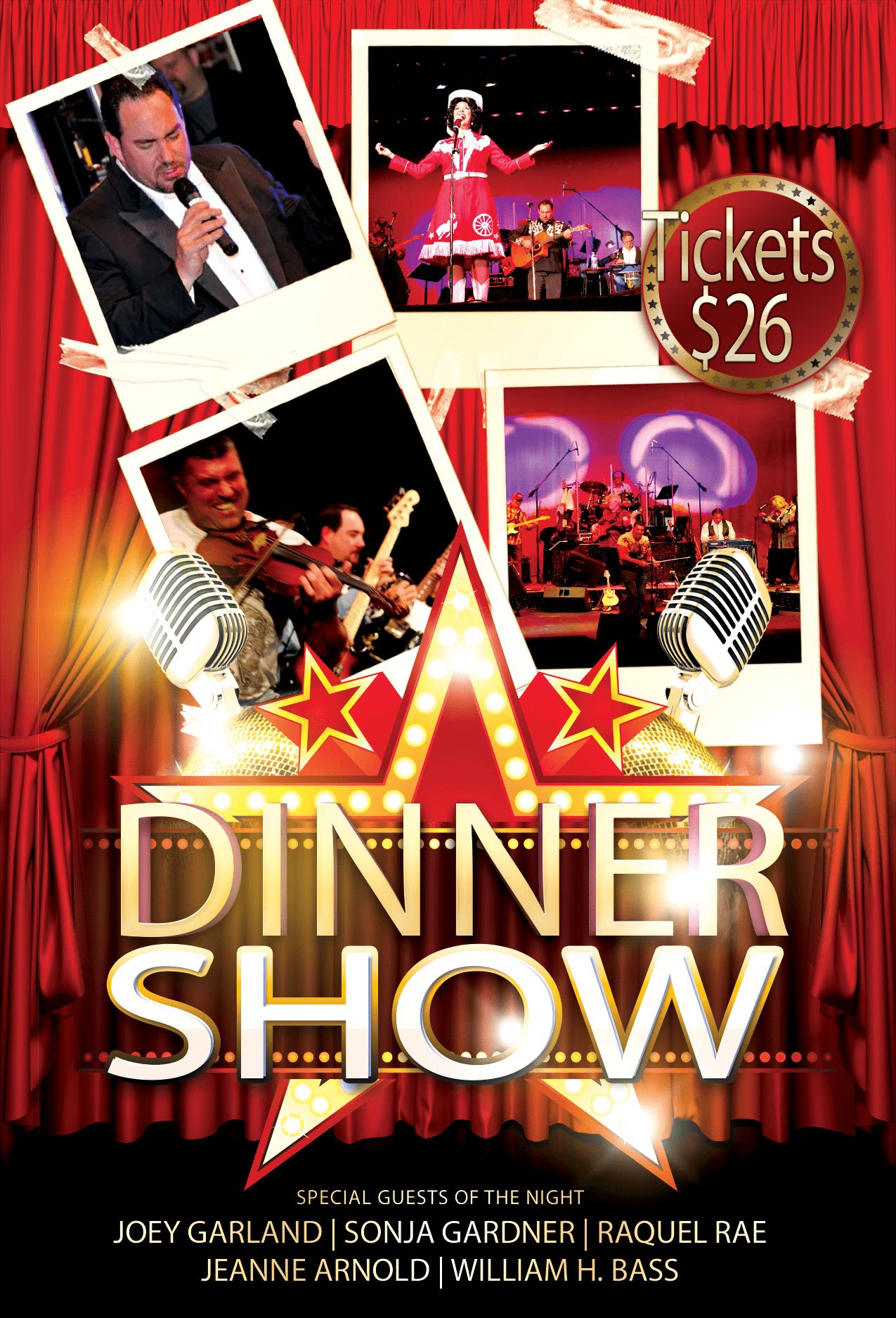 Dinner Show V2 front