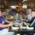 The cast having dinner in Branson!!!