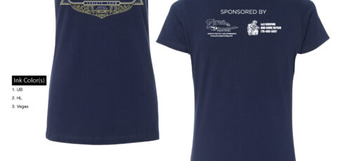 OutPost Opry T-shirt – Navy